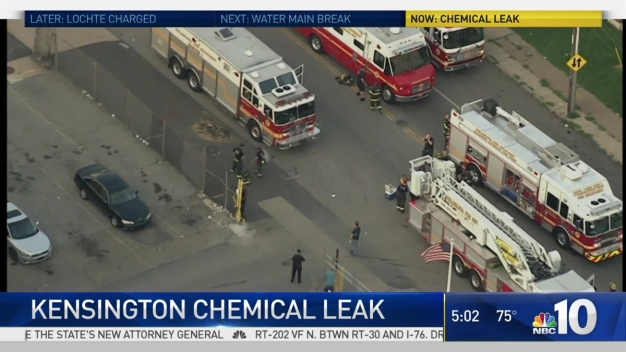 Chemical Smell Remains in Kensington