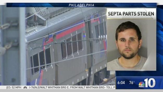 Accused SEPTA Thief Behind Bars