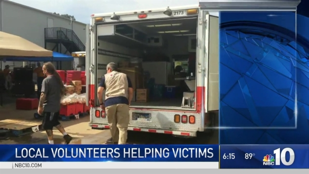 Local Volunteers Help Flood Victims Get Back on Their Feet