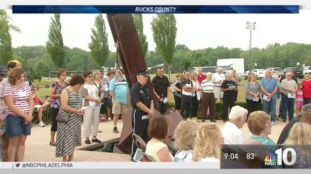 Ceremony Honors Bucks County Victims of 9/11 Attacks