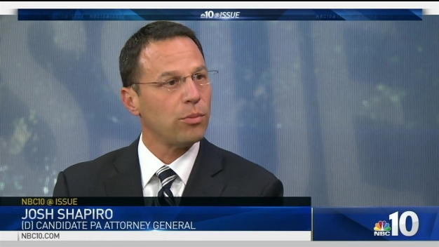 NBC10 @ Issue: Conversation AG Candidate Josh Shapiro