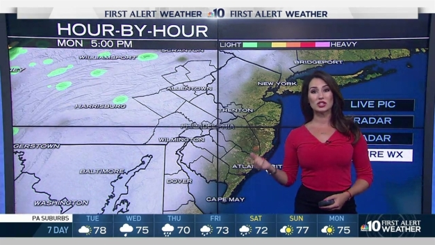 NBC10 First Alert Weather: Grab Your Umbrellas