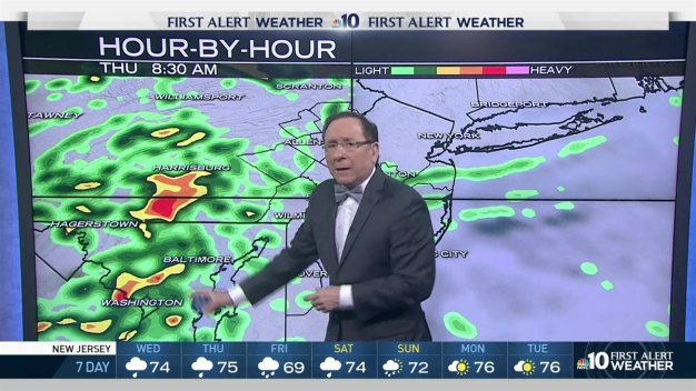 NBC10 First Alert Weather: Enjoy the Sunshine ... While It's Here