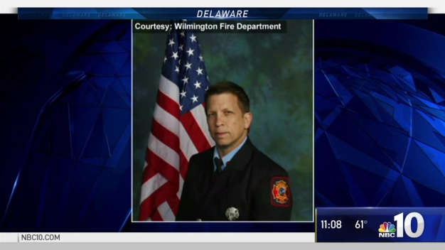 Hundreds Attend Viewing for Fallen Firefighter