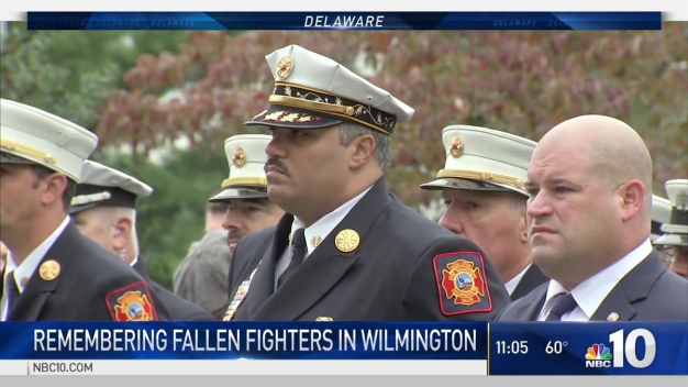 Memorial Services Honor Fallen Wilmington Firefighters
