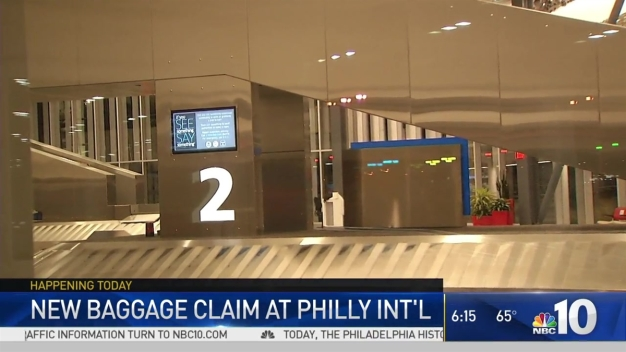 New Baggage Terminal at Philly Airport