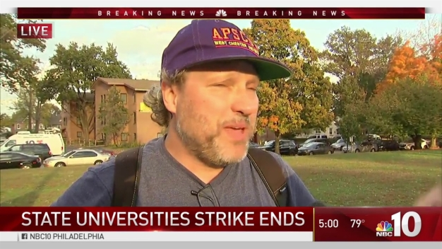 Strike Ends at Pennsylvania State-Run Universities