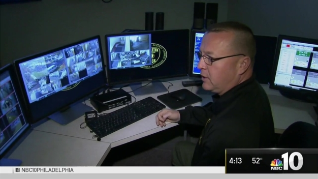 Inside New Camden County Police Monitoring Station