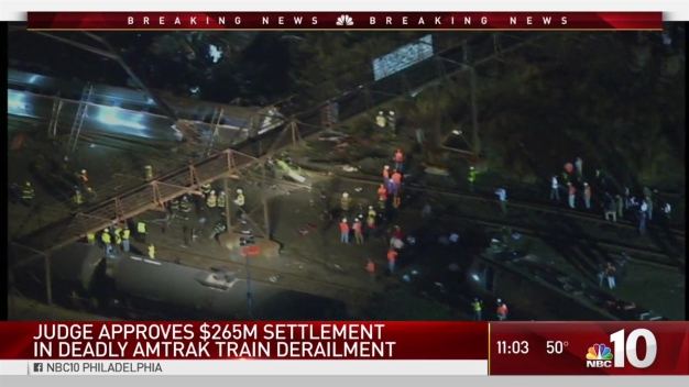 Amtrak 188 Crash Victims Awarded $265M in Settlement
