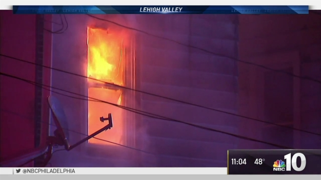 Residents Left Homeless as Lehigh Valley Homes Burn