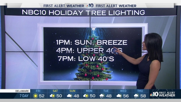 Blue Cross RiverRink Tree Lighting Forecast