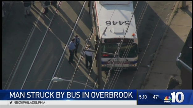 Person Struck by Bus in Overbrook Neighborhood