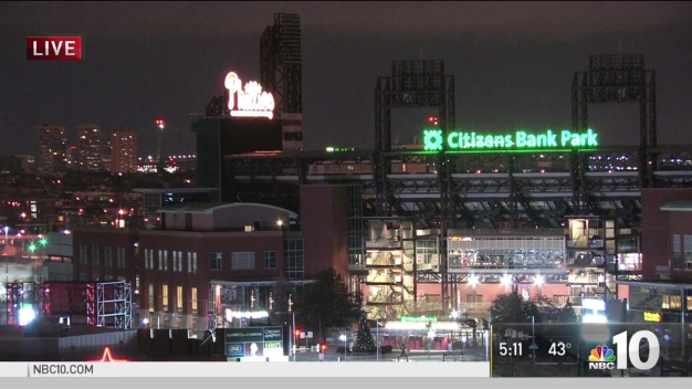 Citizens Bank Park Hosts Tree Lighting Celebration