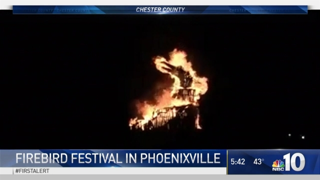 Firebird Festival Lights the Night in Phoenixville