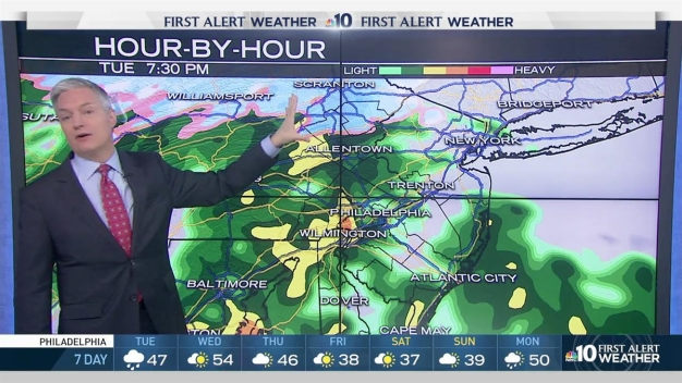 NBC10 First Alert Weather: Wet Weather Coming