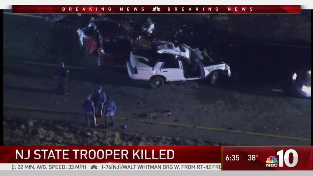 NJ State Trooper Dies After Head-on Collision