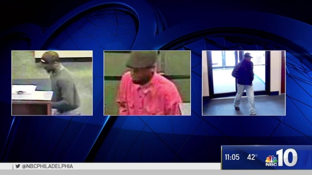 Serial Bank Robber Hits Up Same Philly Bank 3 Times: Police