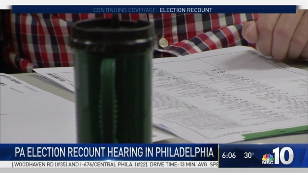Judge Will Decide Pennsyvlania Recount