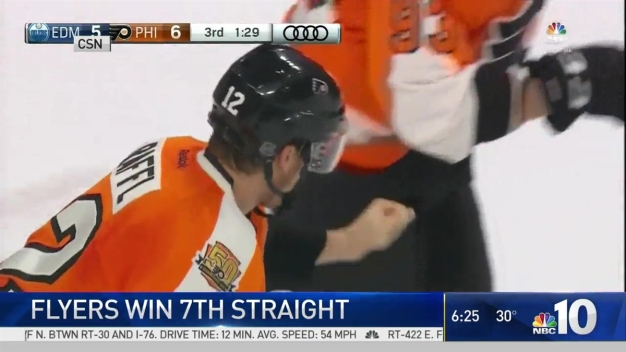 7-Straight Wins for Flyers