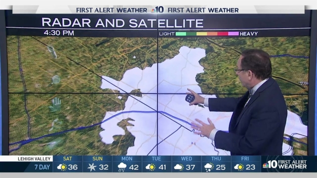 NBC10 First Alert Weather: Snow in the Forecast