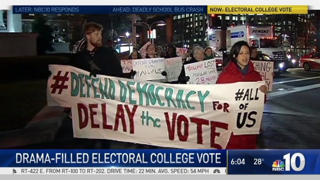 Drama-Filled Electoral College Vote on Tap