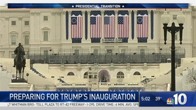 Trump Inauguration Preps Underway