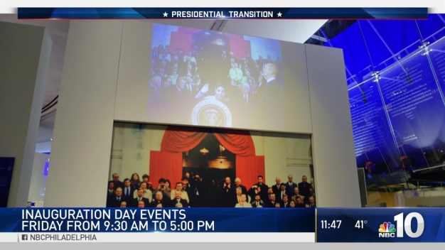 Inauguration Day Events at National Constitution Center