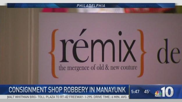 Robbers Target Manayunk Shop