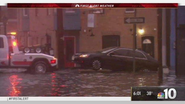 Strong Winds, Coastal Flooding Hit Jersey Shore