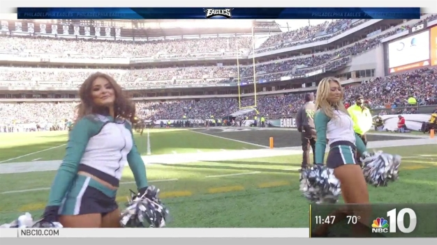 Have What It Takes to Be an Eagles Cheerleader?