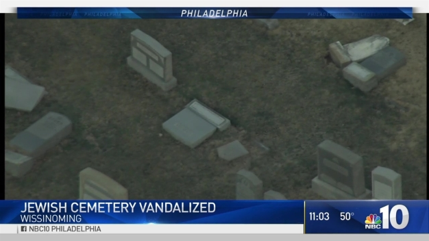 Jewish Cemetery Vandalism in Philly