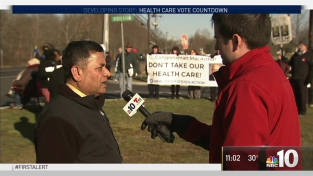 Politicians and Residents Speak on Proposed Health Care Bill