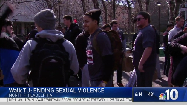 Temple Students March for Sexual Violence Awareness