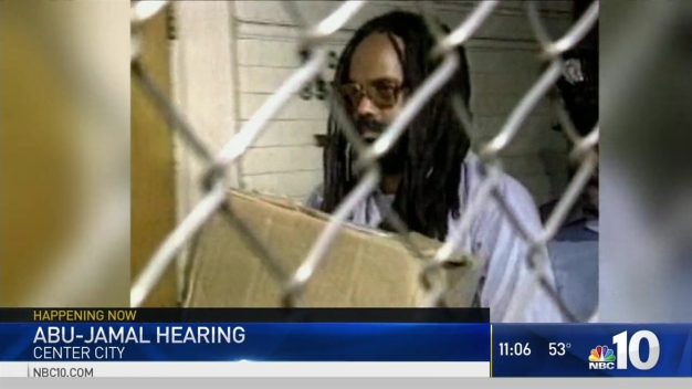 Mumia Abu-Jamal Hearing in Center City