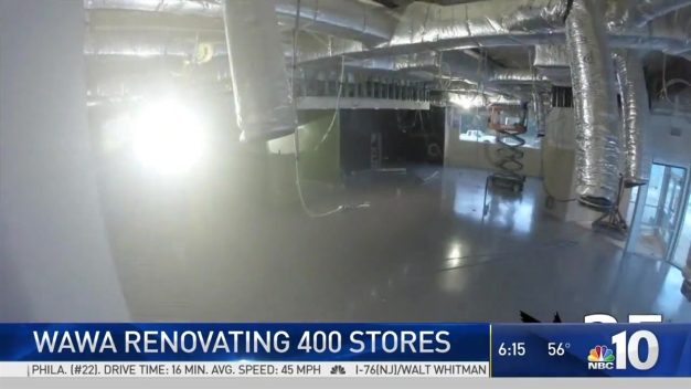 Renovations for Hundreds of Wawa Stores