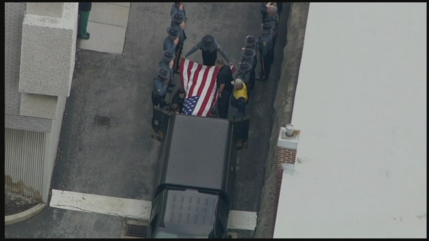Police Procession for Slain Delaware State Trooper Ends at Medical Examiner's Office