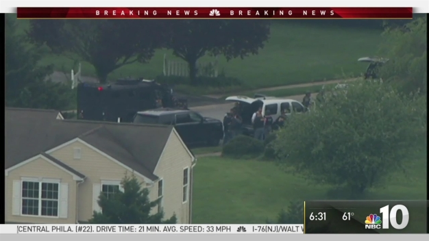 Suspected Trooper Killer Standoff in Delaware
