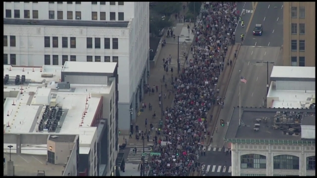 Thousands March in Center City for 'Philly is Charlottesville' Rally