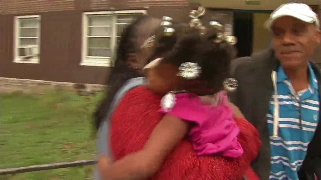 Hugs as Missing 4-Year-Old Is Reunited With Her Family