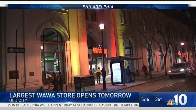 Largest Wawa Store Opens Friday