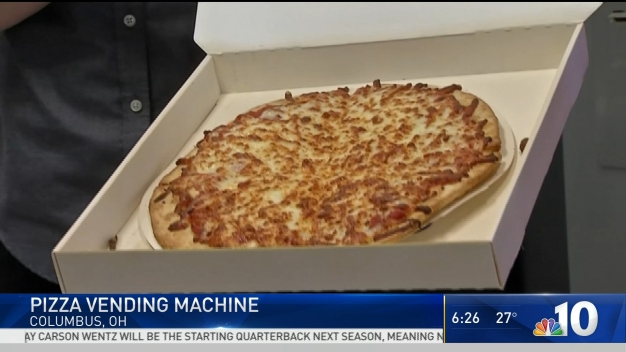 Pizza From a Vending Machine?