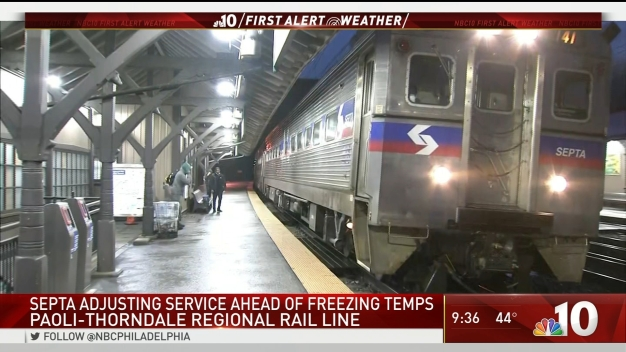 Freezing Temps Cause SEPTA Changes