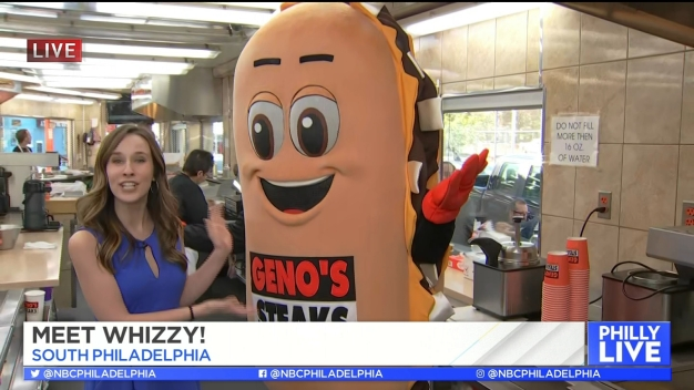 Meet Whizzy, Geno's New Cheesesteak Mascot!