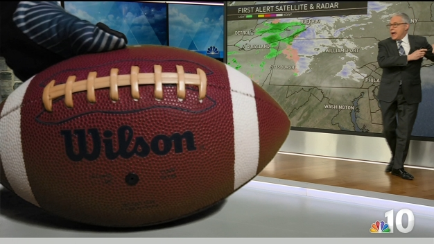 The Football Drops on the Eagles' Forecast