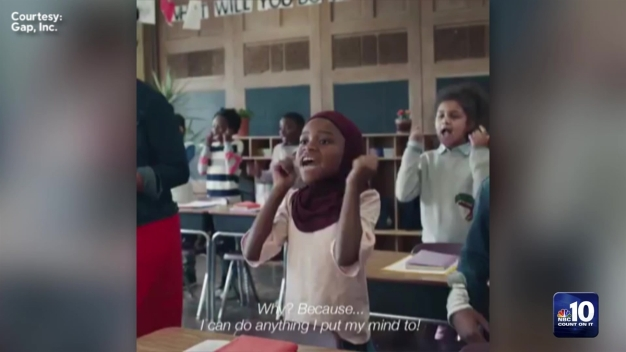 Philly Teacher's Classroom 'Pushes Through' in New Gap Commercial