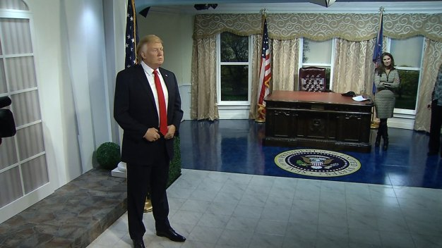 Wax Donald Trump Unveiled at Madame Tussauds