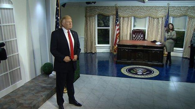 Wax Donald Trump Unveiled at Madame Tussauds