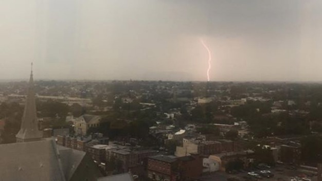 Severe Storms Bring Hail, Flooding to Region