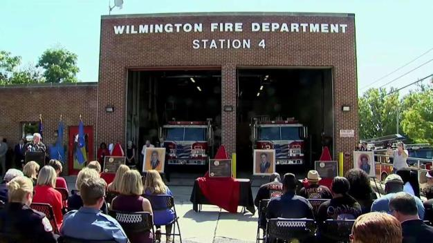 Community Honors Wilmington Firefighters Who Died in Fire