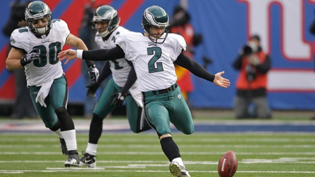 Eagles 'Fans Changed My Life', Says David Akers